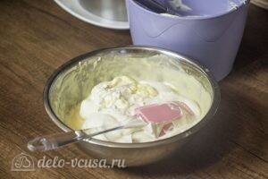 Муссовый торт Летний персик: фото к шагу 12.