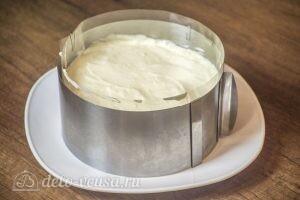 Муссовый торт Летний персик: фото к шагу 15.