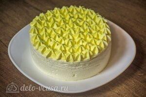 Муссовый торт Летний персик: фото к шагу 18.