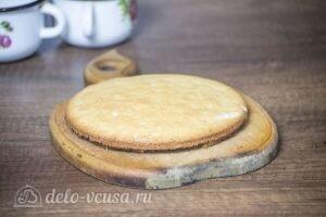 Муссовый торт Летний персик: фото к шагу 4.