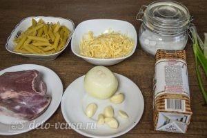 Макароны с фрикадельками в духовке: Ингредиенты