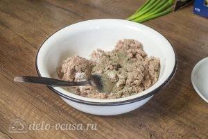 Макароны с фрикадельками в духовке: фото к шагу 2.