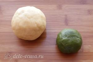 Печенье Зеленое яблоко: фото к шагу 6.