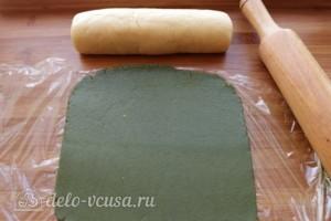 Печенье Зеленое яблоко: фото к шагу 7.