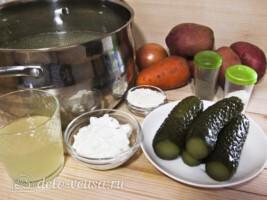 Рассольник по-польски за 45 минут: Ингредиенты