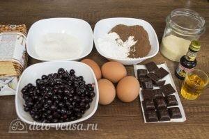 Шоколадный торт с черной смородиной: Ингредиенты
