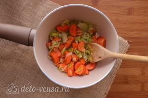 Суп-пюре из чечевицы со сливками: фото к шагу 3.