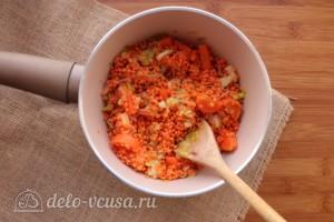 Суп-пюре из чечевицы со сливками: фото к шагу 4.