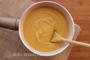Суп-пюре из чечевицы со сливками: фото к шагу 8.