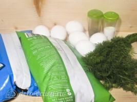 Адыгейский сыр с укропом в домашних условиях: Ингредиенты
