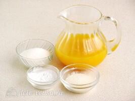 Апельсиновый крем-мусс: Ингредиенты