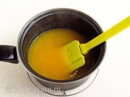 Апельсиновый крем-мусс: фото к шагу 4.