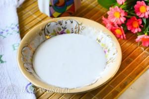 Белковая глазурь: фото к шагу 3.