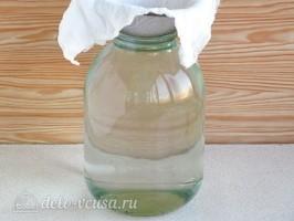 Березовый сок с апельсином на зиму: фото к шагу 1