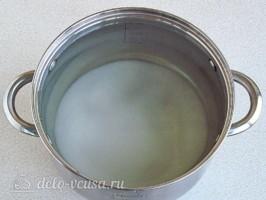 Березовый сок с апельсином на зиму: фото к шагу 4.