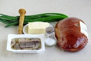 Бутерброды Для вечеринки с сельдью: Ингредиенты
