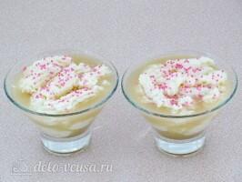 Десерт Комплимент с яблоками: фото к шагу 10.