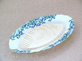 Домашний сливочный сыр из кефира и ряженки: фото к шагу 6.