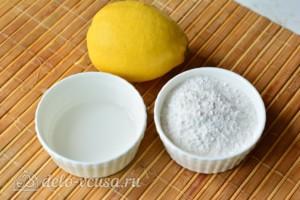 Сахарная глазурь без яиц: Ингредиенты