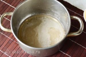 Шоколадная глазурь на воде из какао: фото к шагу 1.