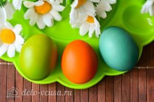 Как покрасить яйца гелевыми красителями: фото к шагу 8.