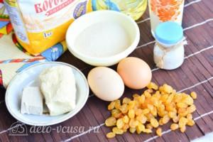 Кулич из венского теста: Ингредиенты