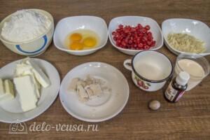 Кулич краффин на топленом молоке: Ингредиенты