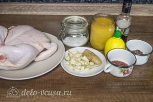 Сочная курица в остром маринаде: Ингредиенты