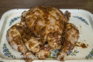 Сочная курица в остром маринаде: фото к шагу 3.