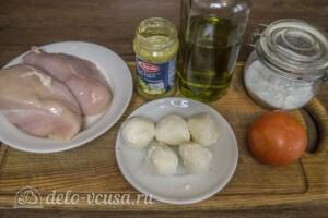 Запеченная куриная грудка с соусом Песто: Ингредиенты