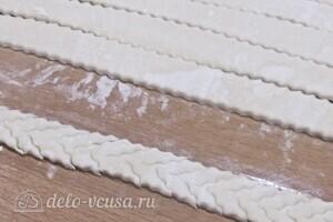 Мясной пирог со слоеным тестом: фото к шагу 14.