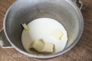 Пасхальный венок с клюквой и шоколадом: фото к шагу 2.