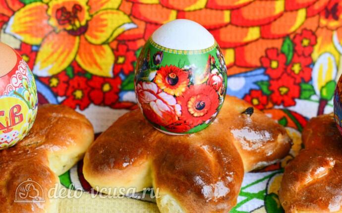 Сладкая подставка для пасхальных яиц