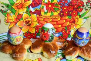 Сладкая подставка для пасхальных яиц: фото к шагу 8
