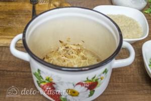 Супер-гарнир из риса с горошком: фото к шагу 3.