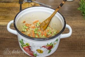 Супер-гарнир из риса с горошком: фото к шагу 4