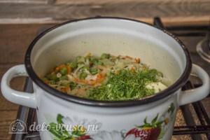 Супер-гарнир из риса с горошком: фото к шагу 6.