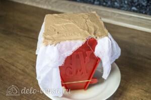 Шоколадно-кофейная пасха без яиц: фото к шагу 4.