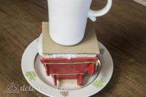 Шоколадная творожная пасха: фото к шагу 9.