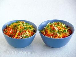 Салат из черной редьки с тыквой: фото к шагу 5