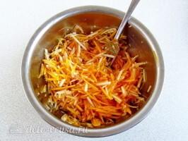 Салат из свежей тыквы и яблока за 10 минут: фото к шагу 5