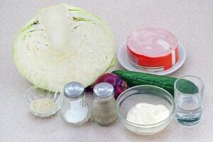 Салат по-берлински: Ингредиенты