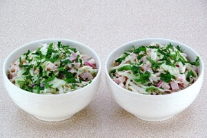 Салат по-берлински: фото к шагу 10.
