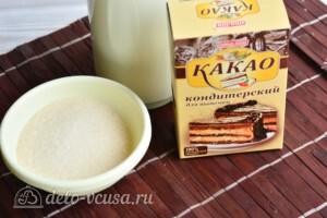 Шоколадная глазурь из какао за 5 минут: Ингредиенты