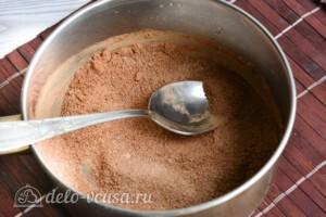 Шоколадная глазурь из какао за 5 минут: фото к шагу 3.