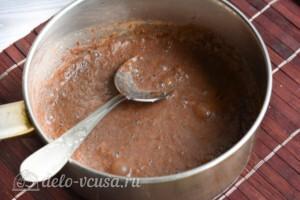 Шоколадная глазурь из какао за 5 минут: фото к шагу 5.