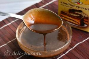 Шоколадная глазурь из какао за 5 минут: фото к шагу 7.