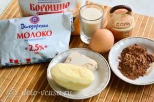 Шоколадный кулич на Пасху: Ингредиенты
