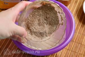 Шоколадный кулич на Пасху: фото к шагу 4.