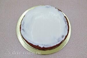 Торт Утреннее вдохновение: фото к шагу 10.
